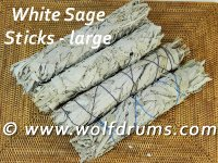 * White Sage (California) - stick lrg