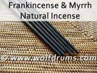 Frankincense and Myrrh incense sticks 6pk