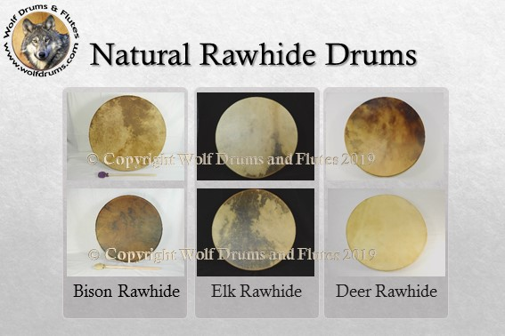 Wolf Drums and Flutes Rawhide Drum Workshops